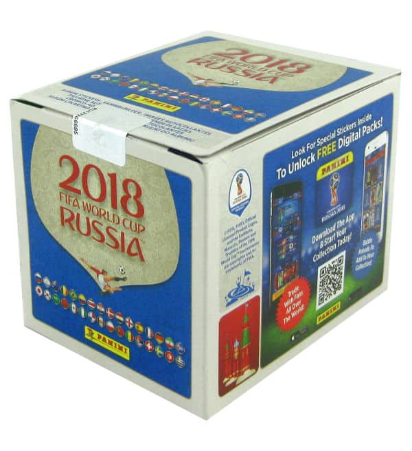 Panini Russia 2018 - Display version 670