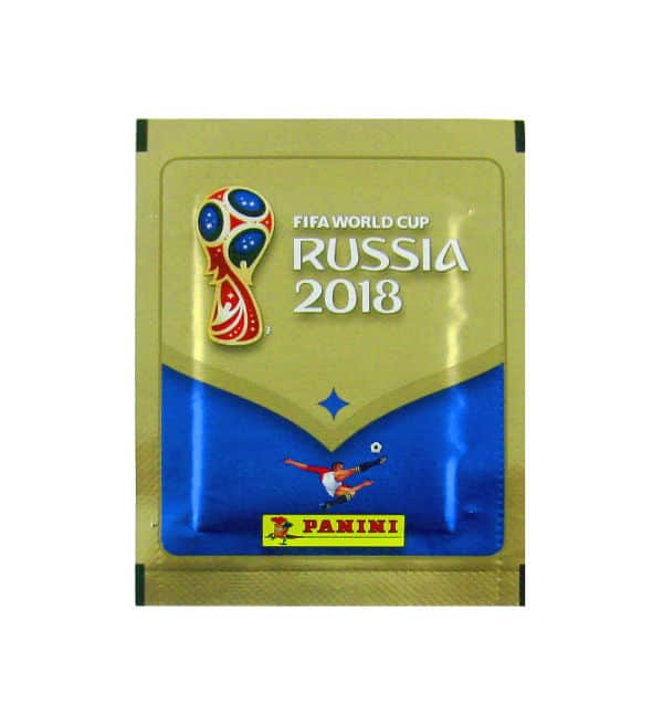 Panini Coupe du Monde 2018 pochette - version 670