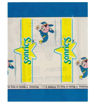 Panini World Cup Story pochette - dos