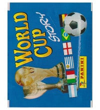 Panini World Cup Story - pochette de 4 stickers