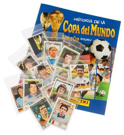 Panini World Cup Story tous stickers + Album