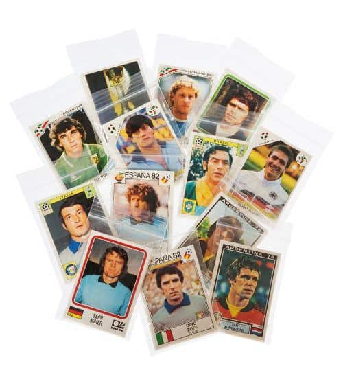 Panini World Cup Story tous stickers verpackt