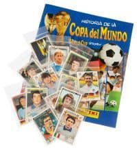 Panini World Cup Story - set complet + album vide