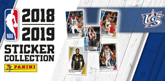 Panini NBA Stickers