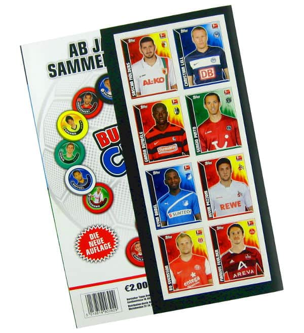 Topps Bundesliga Stickers 2011 / 2012 Album - Dos