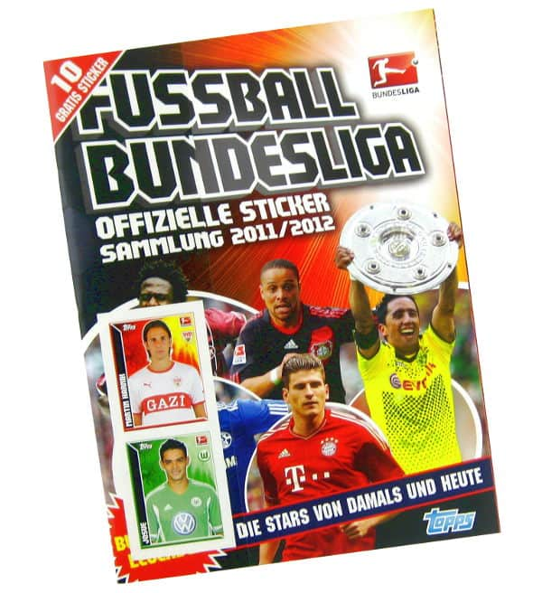 Topps Bundesliga Stickers 2011 / 2012 Album