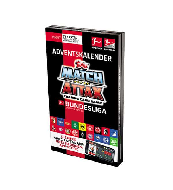 Calendrier De Lavent Football.Topps Bundesliga Match Attax 2019 20 Calendrier De L Avent