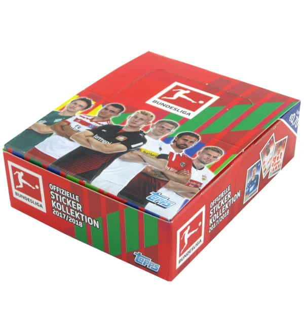 Topps Bundesliga Stickers 2017 2018 Box