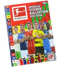Topps Bundesliga Stickers 2017 2018 Album