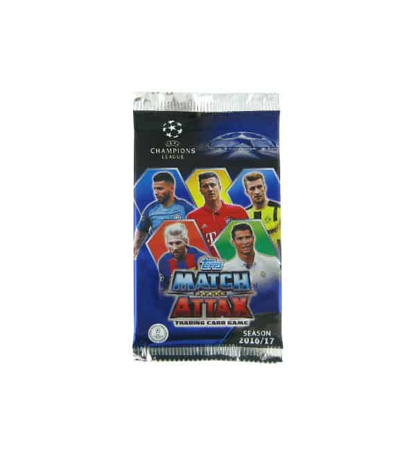 Topps Champions League Match Attax 2016 / 2017 Pochette