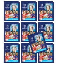 Topps Champions League Stickers 17 / 18 - 10 Pochettes