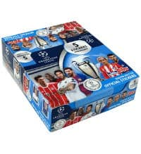 Topps Champions League Stickers 2017 / 2018 Boîte