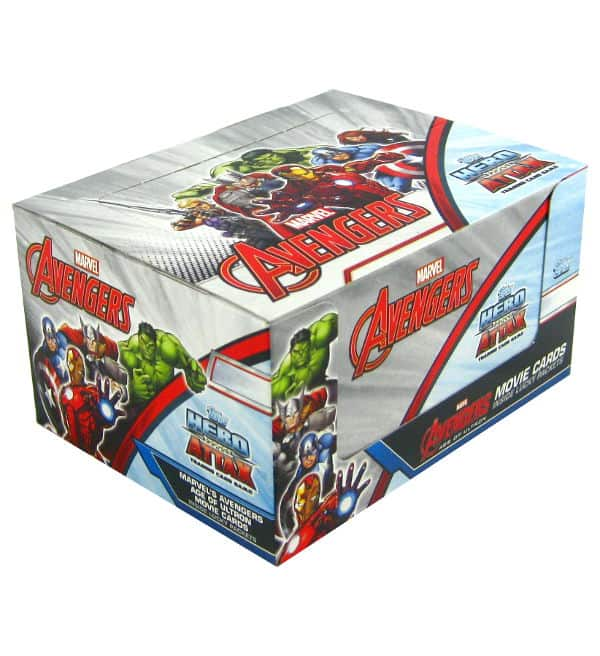 Topps Hero Attax Avengers - Age of Ultron boîte