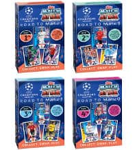 Topps Champions League Match Attax Road To Madrid 19 Box Set