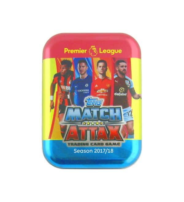 Topps PL Match Attax 2017 / 2018 Nordic Edition Pocket Tin