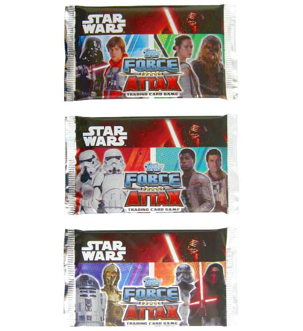 Topps Star Wars Force Attax Ep. 7 - Pochettes