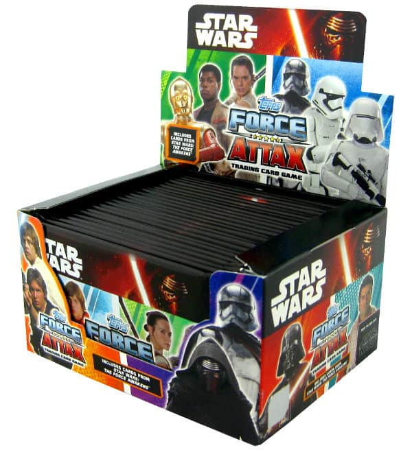 Topps Star Wars Force Attax Ep. 7 - Display de 24 pochettes