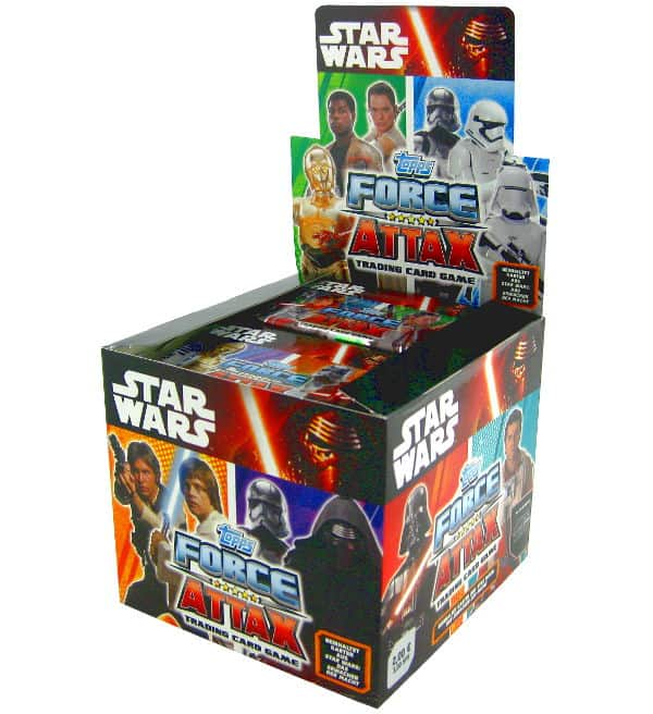 Topps Star Wars Force Attax Ep. 7 - Display