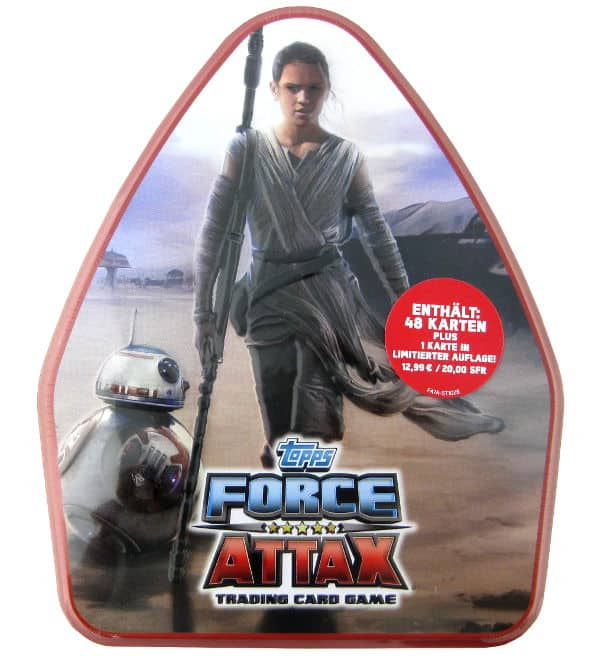 Topps Star Wars Force Attax Ep. 7 - XXL-Tin 2 Prix